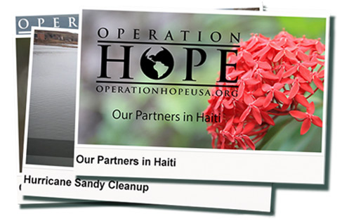 Operation HOPE Video Gallery Collage
